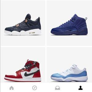 Jordan Shoes - Air Jordan Retro 11 LOW Carolina Blues Size 8